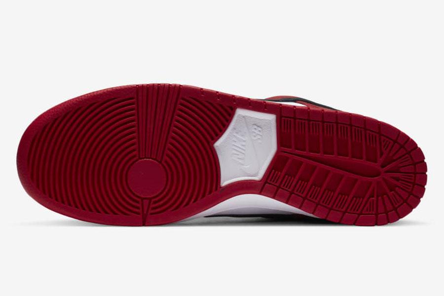 Nike SB Dunk Low Pro Chicago (BQ6817-600) - Outsole