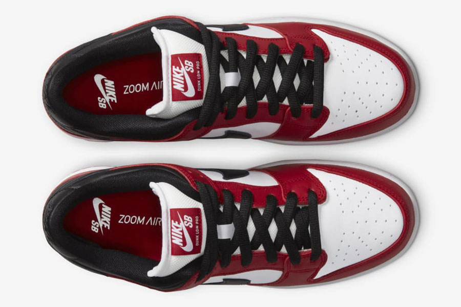 Nike SB Dunk Low Pro Chicago (BQ6817-600) - Top