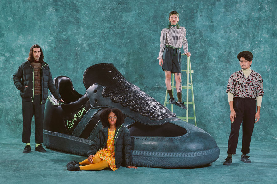Jonah Hill x adidas Originals Samba (FW7458) Mineral Green - 1