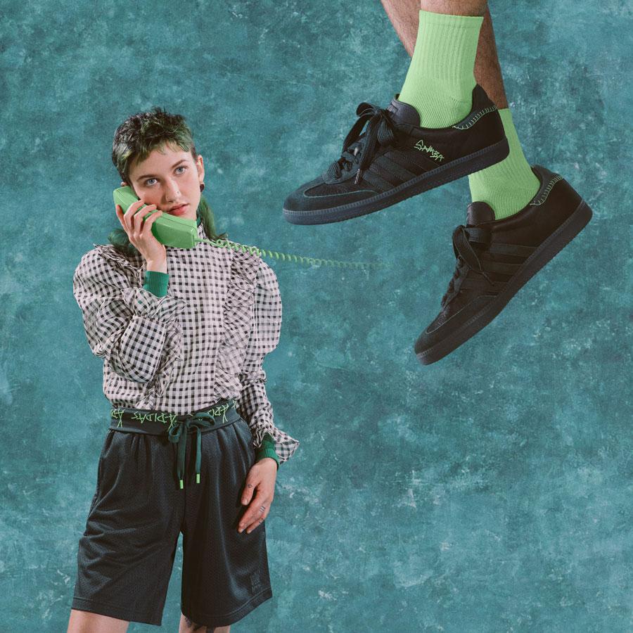 Jonah Hill x adidas Originals Samba (FW7458) Mineral Green - 2