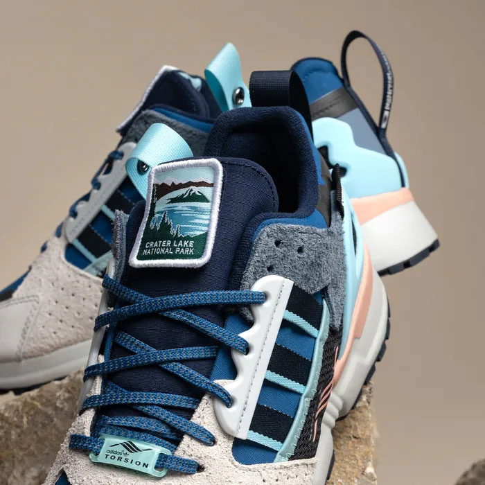 National Park Foundation x adidas ZX 10000C Crater Lake