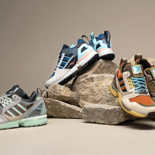 adidas and the National Park Foundation Present 3 ZX Models
